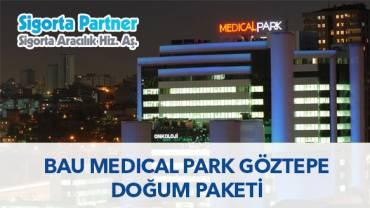 BAU Medical Park Göztepe Hastanesi Doğum Paketi